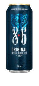 8.6 ORIGINAL LATTINA 50CL - Birra confezione