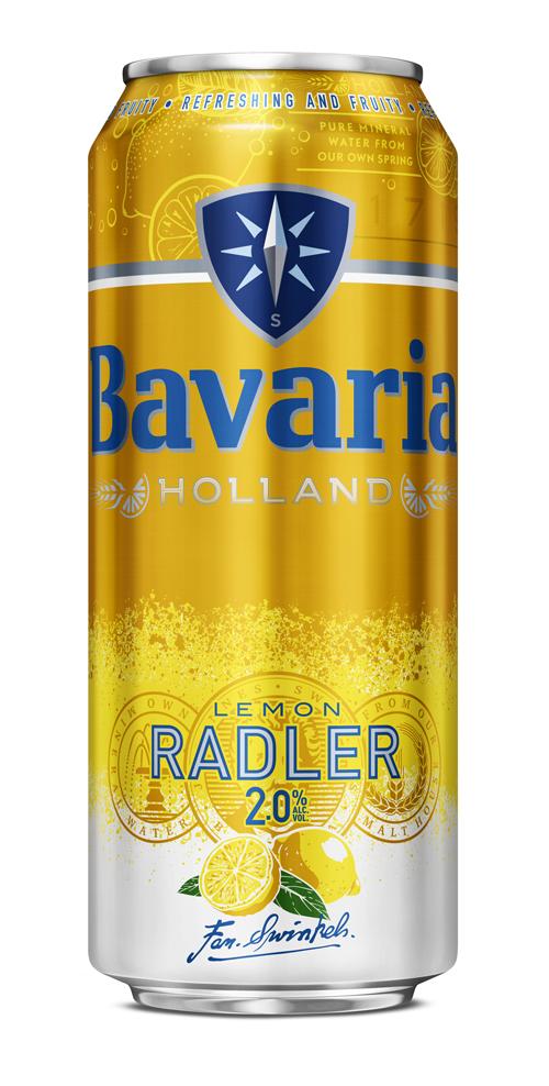 BAVARIA RADLER LEMON LATT. 50CL Logo/Marchio