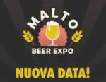 Posticipata al 19-20-21 marzo 2021 la seconda edizione di Malto Beer Expo