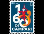 Campari: un francobollo celebrativo con Lo Spiritello per i 160 anni