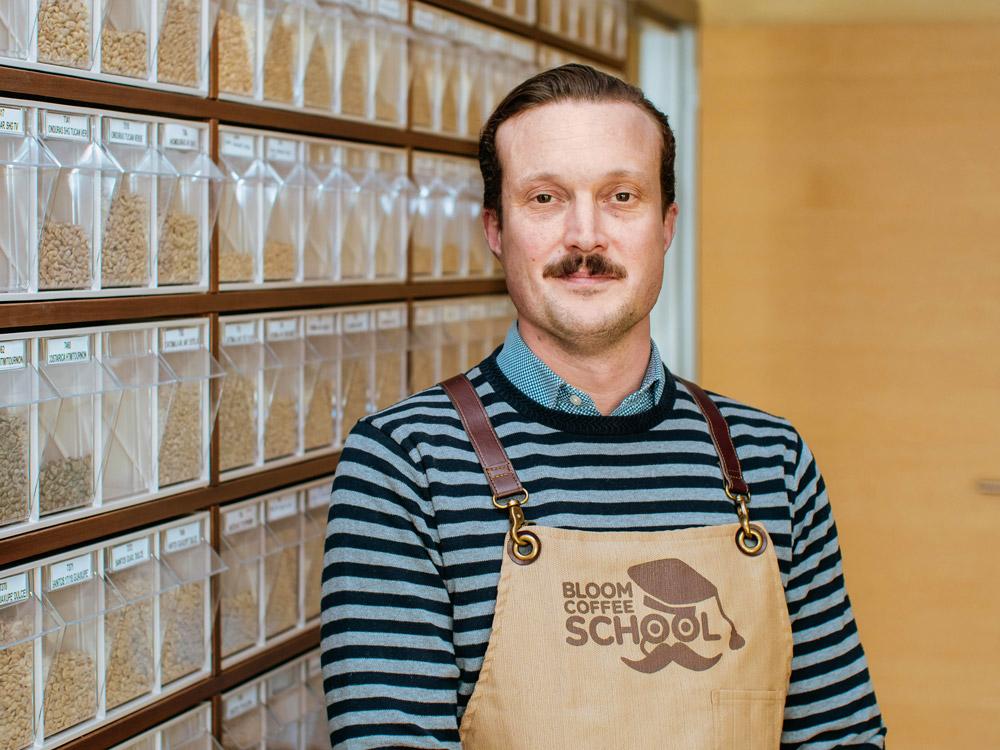 Alberto Polojac, responsabile acquisti e controllo qualità per Imperator e direttore della Bloom Coffee School