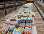 Donazione di Acqua Sant'Anna per le comunità di Tenda e La Brigue
