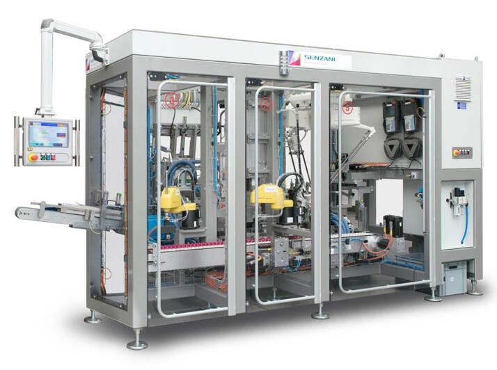 TLCM30, astucciatrice per il packaging di capsule Nespresso compatibili in alluminio