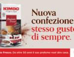 Kimbo: nuova impattante campagna pubblicitaria dedicata al restyling di Macinato Fresco