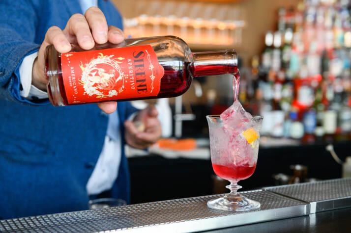 Americano Rosso di Liquori delle Sirene - Aperitivo Barman