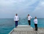 Chef Andrea Berton firma il menù di H2O, il primo ristorante sott'acqua alle Maldive
