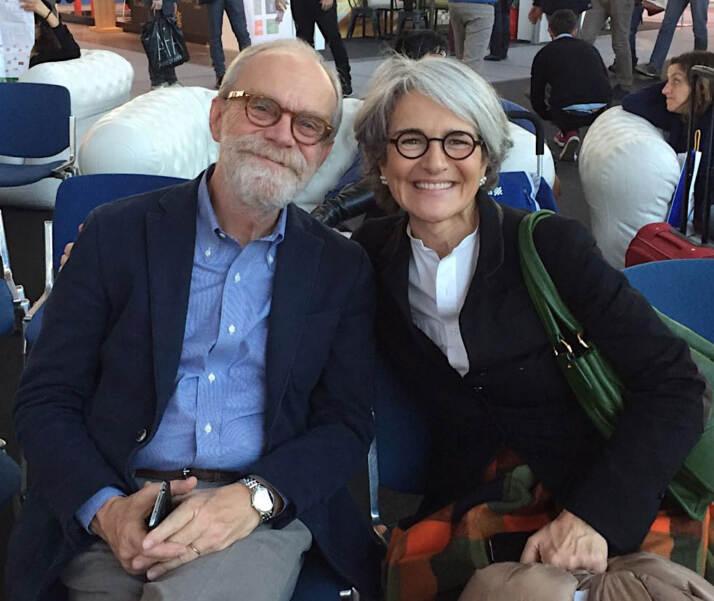Enrico Meschini e Paola Goppion
