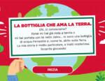 """Ferrarelle lancia il secondo gioco digitale """"La bottiglia che ama la Terra"""""""
