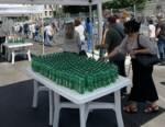 Acqua Clavdia idrata gli utenti in attesa di vaccinazione all'Hub Nuvola di Roma