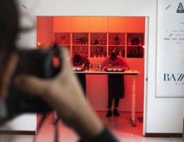 Andrea e Marco Bazzara ritratti dalla fotografa del National Geographic presso la Bazzara Academy