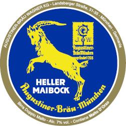 AUGUSTINER BRÄU HELLER MAIBOCK - Birra confezione