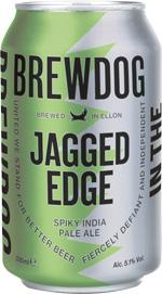 BREWDOG JAGGED EDGE - Birra confezione