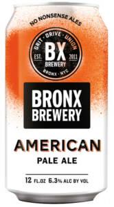 BRONX BREWERY AMERICAN PALE ALE - Birra confezione