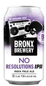 immagine BRONX BREWERY NO RESOLUTIONS IPA