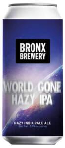 BRONX BREWERY WORLD GONE HAZY IPA - Birra confezione