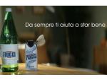Acqua e Terme Fiuggi in pubblicità per promuovere la storica acqua