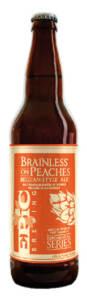 EPIC BREWING COMPANY BRAINLESS ON PEACHES - Birra confezione