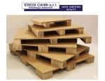 Eredi Caimi presenta la vera alternativa al legno: il pallet in cartone alveolare