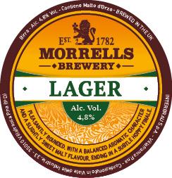 MORRELLS LAGER - Birra confezione