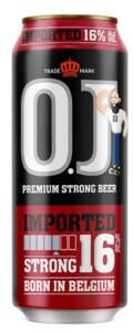 Birre O.J. STRONG 16% confezione