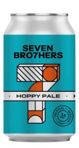 SEVEN BRO7HERS HOPPY PALE ALE - Birra confezione