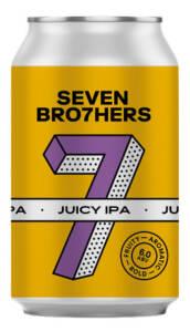 SEVEN BRO7HERS JUICY IPA - Birra confezione