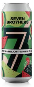 SEVEN BRO7HERS WATERMELON WHEAT BEER - Birra confezione