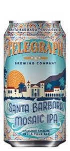 TELEGRAPH BREWING CO. SANTA BARBARA MOSAIC IPA - Birra confezione