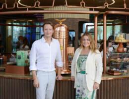 Francesca Lavazza, Board Member Lavazza Group, e Carlo Colpo, Marketing Communication Director & Brand Home Director del Gruppo
