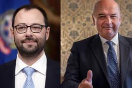 Ministro Patuanelli e il Sindaco Dipiazza