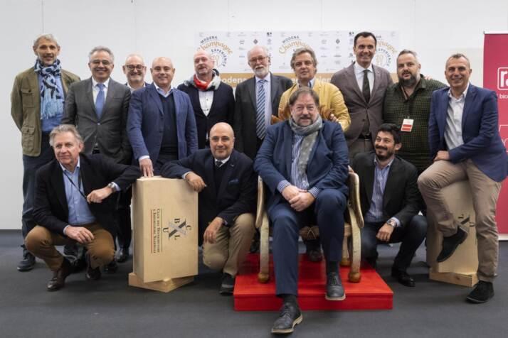 i soci di Società Excellence a Modena Champagne Experience 2021