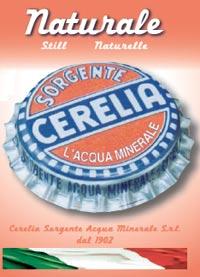 logo CERELIA SORGENTE ACQUA MINERALE S.r.l.
