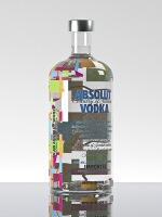 Absolut Wallpaper Limited Edition Creatività Abbraccia Icona