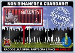 CONCORSO BAVARIA FOOTBALL CHALLENGE: IN RETE L'OPPORTUNITA' DI FARE GOAL  E PARTECIPARE A UN MILAN DAY