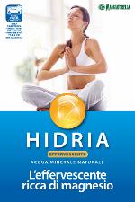 Benvenuta Hidria Acqua Minerale Effervescente Naturale Sicilia