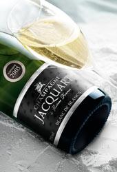 Il nuovo look di Champagne Jacquart