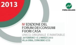 Torna il Forum dei Consumi Fuori Casa a Villa Erba a Cernobbio