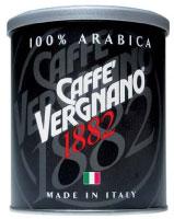 NERO, ELEGANTE RAFFINATO CAFFE' VERGNANO 100% ARABICA NELLA NUOVA LATTINA