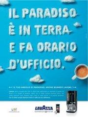 Campagna Paradiso Pubblicità Ufficio Lavazza