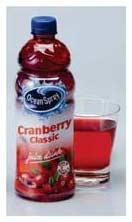 Cranberry Mirtillo Natex Ocean Spray Rosso Ocean Spray Bottiglia