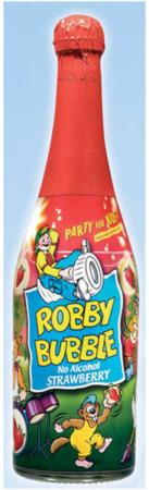 Robby Bubble Spumante Analcolico Feste Bambini