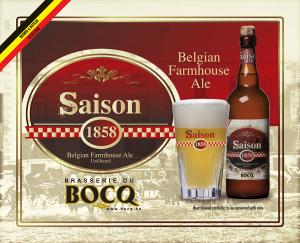 Birra SAISON 1858 del birrificio belga Brasserie du Bocq: una nuova perla nel catalogo INTERBRAU